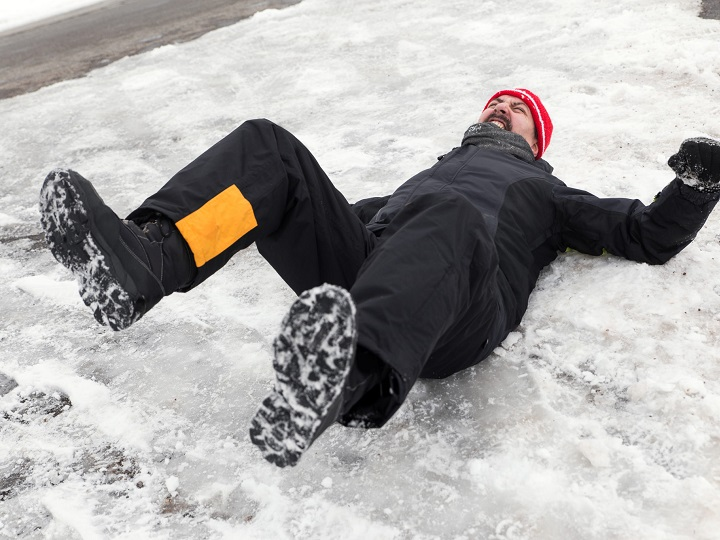 How to Avoid Slipping on Ice When Walking